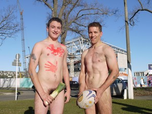 Nude Blacks provide perfect pre rugby entertainment in Dunedin