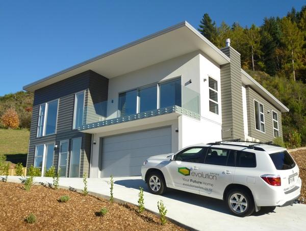 One of the first evolution homes at St Andrews Park Queenstown.