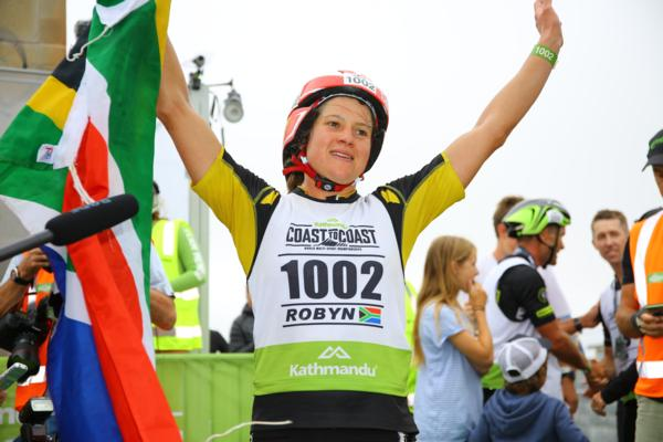 South African Robyn Owen claimed her first win in today's Kathmandu Coast to Coast World Championship Longest Day