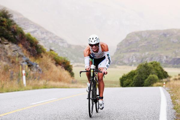Gina Crawford Christchurch competes during Challenge Wanaka