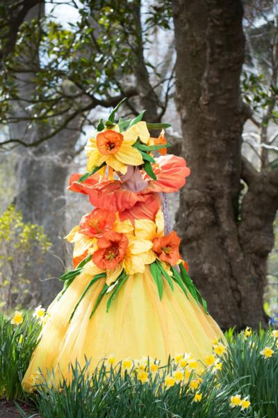 One of Jenny Gillies' Daffodil Costumes
