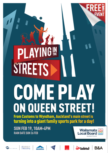 Playing in the Streets brochure