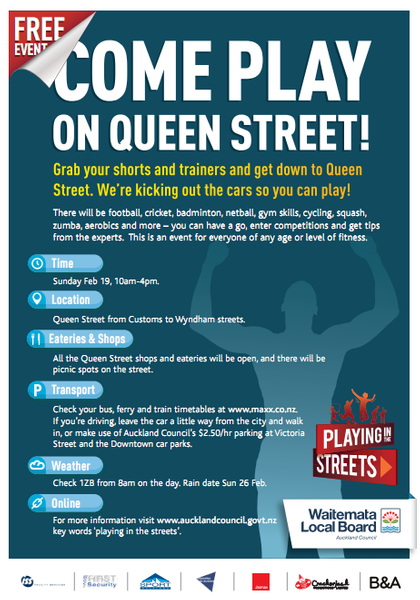 Playing in the Streets brochure (end)