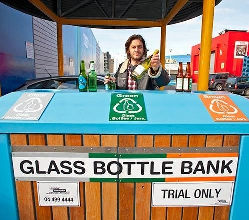 The bottle bank bins will stay if they are used regularly and correctly.