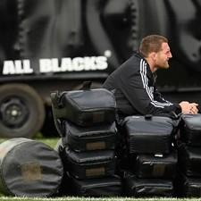Kieran Read hopes his spell on the sidelines will soon be over