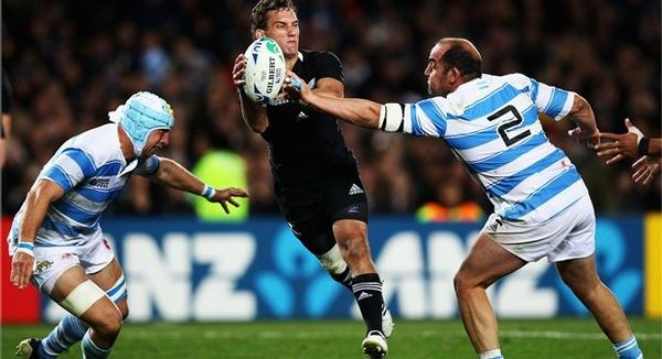 Argentina gave New Zealand a scare en route to lifting the Webb Ellis Cup.