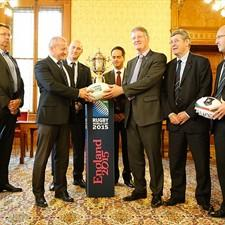 Hungary Secretary of State for Sport István Simicskó met IRB Chairman Bernard Lapasset in Budapest last week.