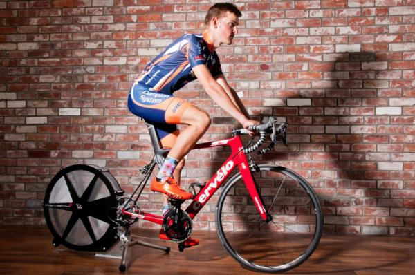 New Zealand elite time trial champion Michael Vink (pictured) and well performed professional Sam Horgan are two new Brand Ambassadors for the Revbox ERG, a revolutionary new stationary cycle trainer which uses air breaking to create resistance with minim
