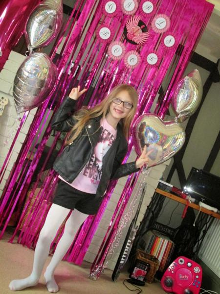 Pink Metallic Foil Curtains - Hanging Decorations