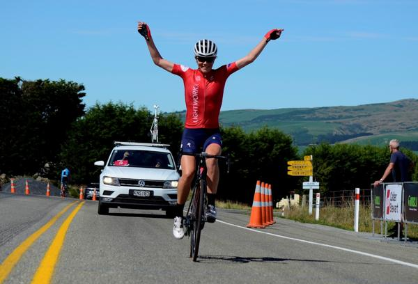 Kate McIIroy made in two winning years in a row in the Armstrong Prestige Dunedin Classic yesterday.