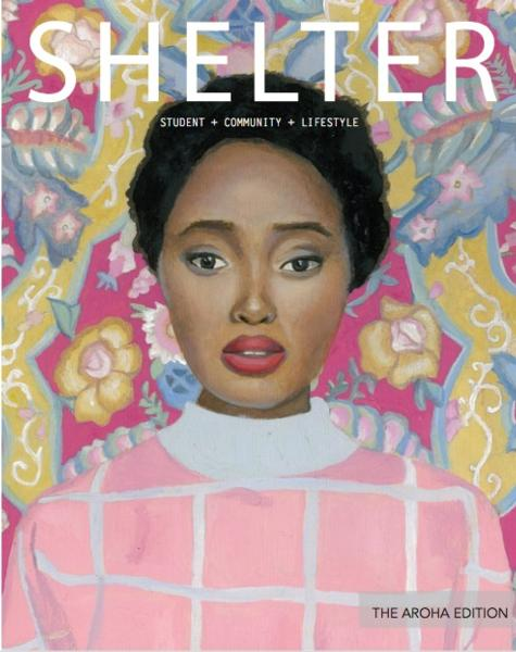 Front cover of the second edition of Shelter - the Aroha edition