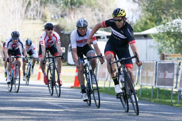 Alex Frame made a winning return to New Zealand racing after missing selection for the Rio Olympics, winning the elite race in the third round of the Calder Stewart Cycling Series, the Nelson Classic, today.