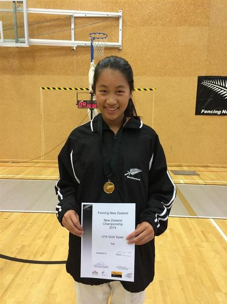 Champion Fencer Ashleigh Goh