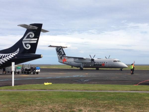 JETSTAR LANDS IN NEW PLYMOUTH
