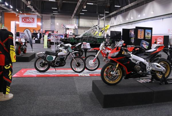 Strong support from local motorcycle importers has vindicated CRC Speedshow director Ross Prevette's decision to create a special 'motorcycle mega-site' in the main hall at this year's 19-20 July event at Auckland's ASB Showgrounds.