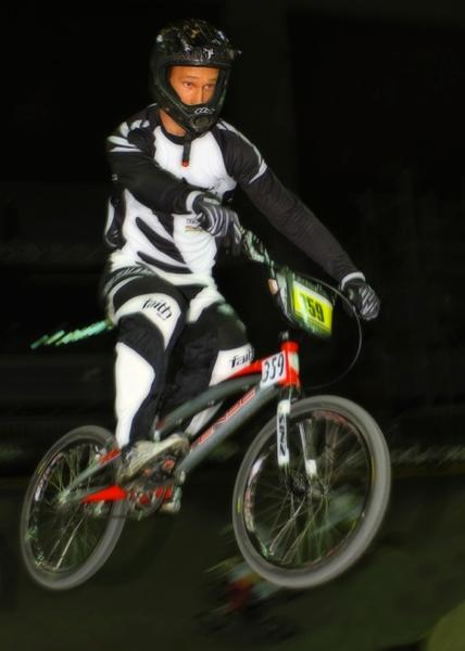 Adam Coker, New Zealand double medallist at the UCI BMX World Championships.