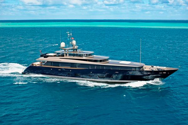 The Alloy Yachts-built Loretta Anne won the World Superyacht Award for motor yacht of the year 2013