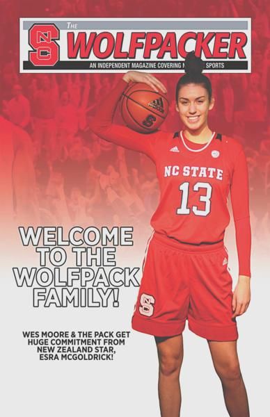"Christchurch ""Star"" Player Features on NC State University Sports Magazine Cover"