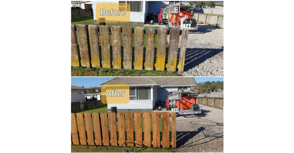 Get your deck and fences cleaned for summer with Rotorua's leading business and house washing service, Exterior Washing Services.