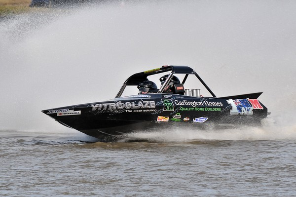 Palmerston North's Richard Burt and navigator Roger Maunder are odds on favourite for back-to-back Suzuki superboat titles, with the seasons final round of the 2010 Jetpro Jetsprint Championship being held near Featherston on Saturday.