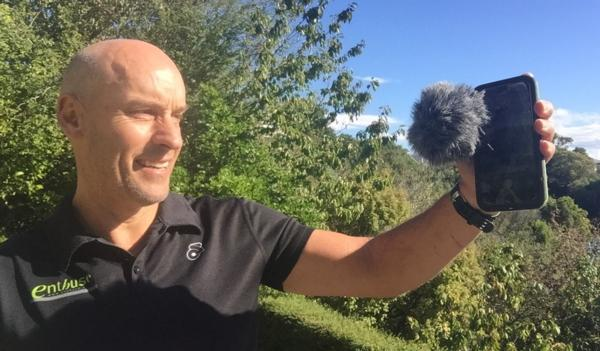 John McKenzie from enthuse media & events is excited about a series of South Island seminars in May about unlocking the power of an IPhone to create great looking video content.