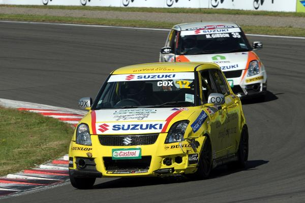 Two race wins helped Rangiora's Chris Cox take the round win and second overall in the Suzuki Swift Sport Cup standings after this weekend's three races held at Manfeild in the Manawatu.