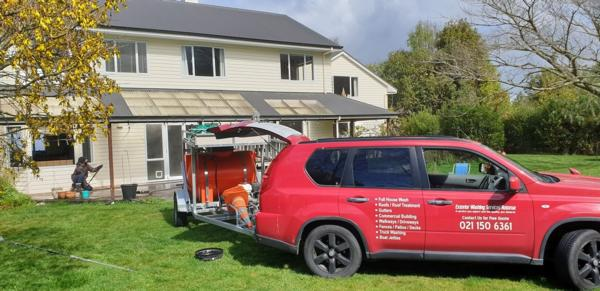 Exterior Washing Services are Rotorua's leading washing service for commercial and residential properties.