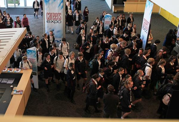 over 30,000 students attended the 2013 Careers Expos