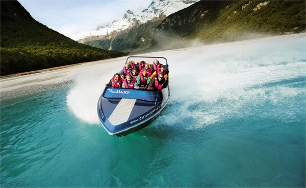Dart River Jet Safaris - Dart River Jet Safaris.