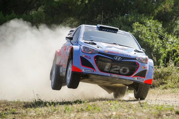 New Zealand's top rally drivers Hayden Paddon and John Kennard successfully completed the final day of Rally Italia Sardegna, taking a top five stage time and finishing their debut rally with Hyundai Motorsport in 12th place overall.