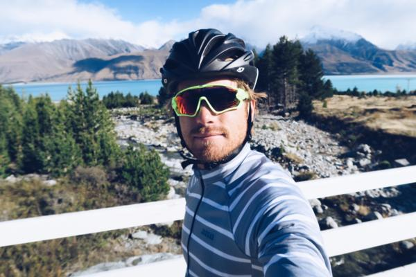 Hayden Quinn&#x3b; Former MasterChef turned Australian television personality Hayden Quinn, pictured on New Zealand's Alps 2 Ocean cycle trial last year is the latest to enter the Kathmandu Coast to Coast to knock the event off his bucket list.