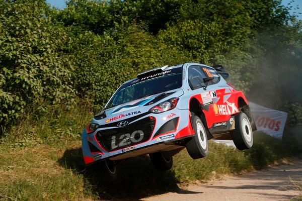 The Kiwi crew of Hayden Paddon and John Kennard have taken a steady approach to safely complete day three of WRC Rally Poland, improving their overall placing from 11th to seventh.