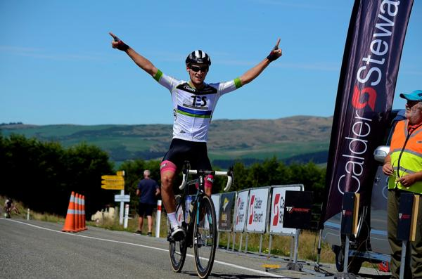Southlander Matt Zenovich, winning the first round of the Calder Stewart Series in Dunedin this year, is keen to win the Kiwi Style Bike Tours Timaru Classic for the second year in a row to keep his elite men's series lead over the winter months.