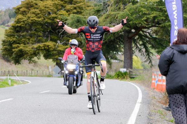 1)	Dunedin cyclist Kees Duyvesteyn had an impressive elite men's win to move into the series lead and claim three leaders jerseys in round four of the Calder Stewart Cyc.ling Series in Nelson