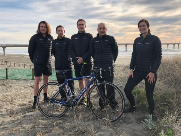 Sport Canterbury staff are getting behind CEO Julyan Falloon, General Manager Bruce Morton and Community Sport Advisor Zara Taylor who have entered the  Kathmandu Coast to Coast Two Day event three person Corporate Challenge