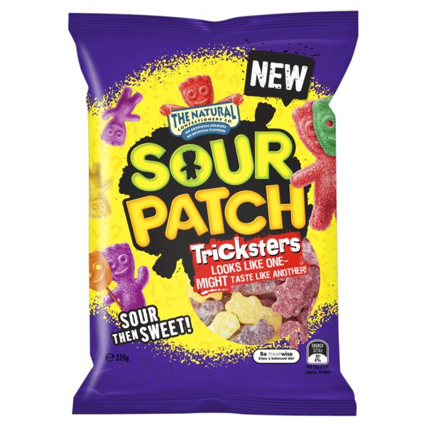 Sour Patch Trickster 220g, RRP$3.29