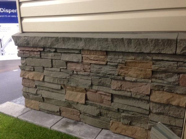 Genstone all the beauty of stone without the weight or Mortarless stone siding