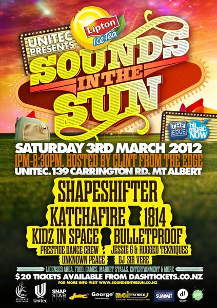 Sounds in the Sun poster