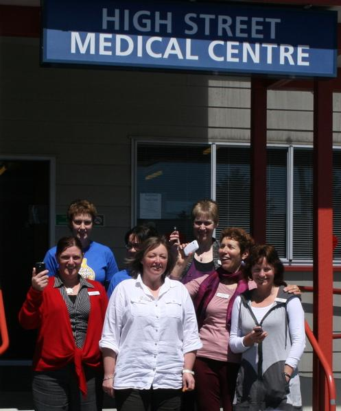 Staff at High Street Medical Centre, Greymouth will now be better connected to their patients with Vensa Health's TXT2Remind practice-patient messaging system.