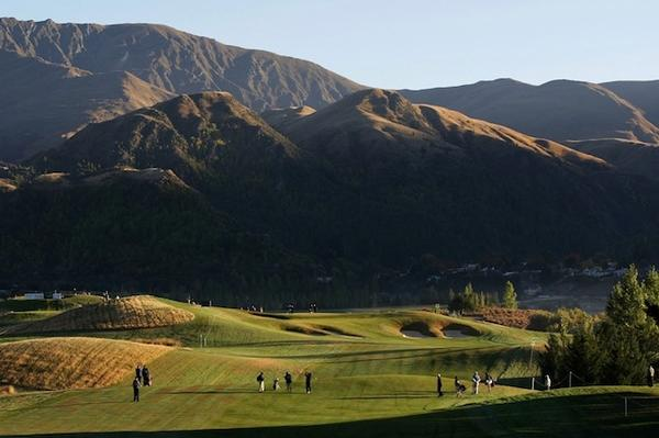 The Hills golf course co-host of the 2014 NZ Open.