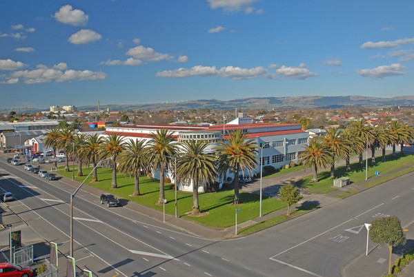 Iconic Libertyland building up for tender | infonews.co.nz New ...