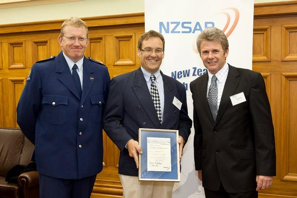 Police Constable Brent Swanson, Tony Delaney and Mark