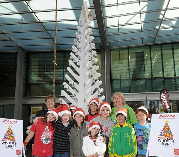 Launch of Kmart Wishing Tree Appeal 17 Nov