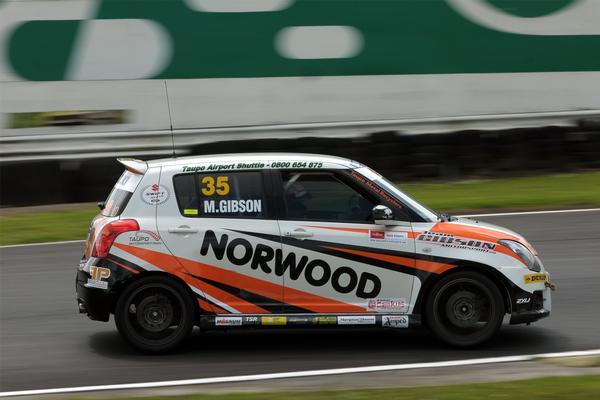 Gibson Wins Opening Suzuki Swift Sport Cup Race Infonews Co Nz New