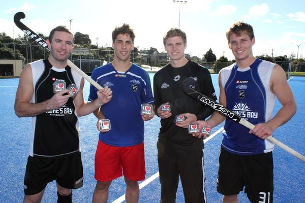 Men's Black Sticks - Phil Burrows, Nick Wilson, Stephen Jenness, Steve Edwards