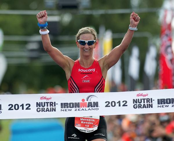 American Meredith Kessler has top seeding to defend her title at next week's Kellogg's Nutri-Grain IRONMAN New Zealand in Taupo.