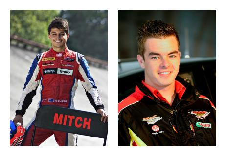 Young motor racing stars Mitch Evans and Scott McLaughlin will be part of the huge new Kiwi Young Guns display at this year's CRC Speedshow.