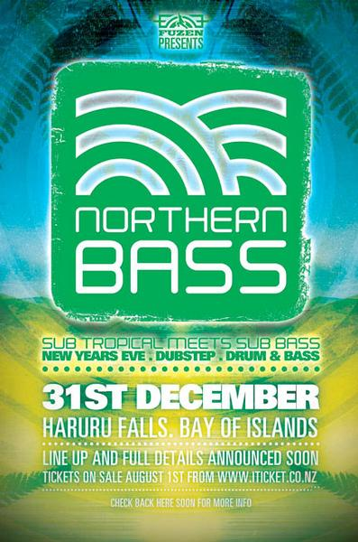 Northern Bass, Pahia, New Years Eve