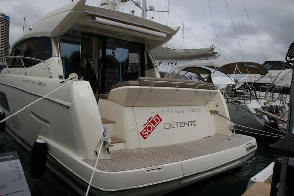 Orakei Yacht Sales sold this $1.2m Prestige 500S at the Auckland On Water Boat Show