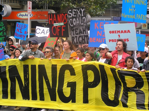 March against the Government's mining plans today